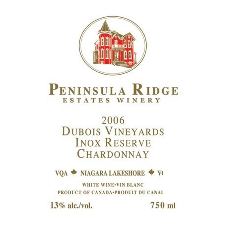 Dubois Vineyards Reserve INOX Chardonnay by Peninsula Ridge 2006