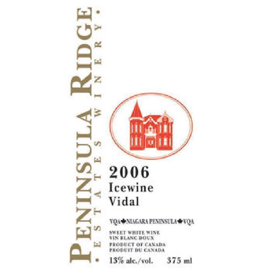 Vidal Icewine VQA (200 ml) by Peninsula Ridge 2006