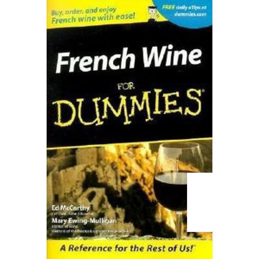 French Wine For Dummies by Wiley
