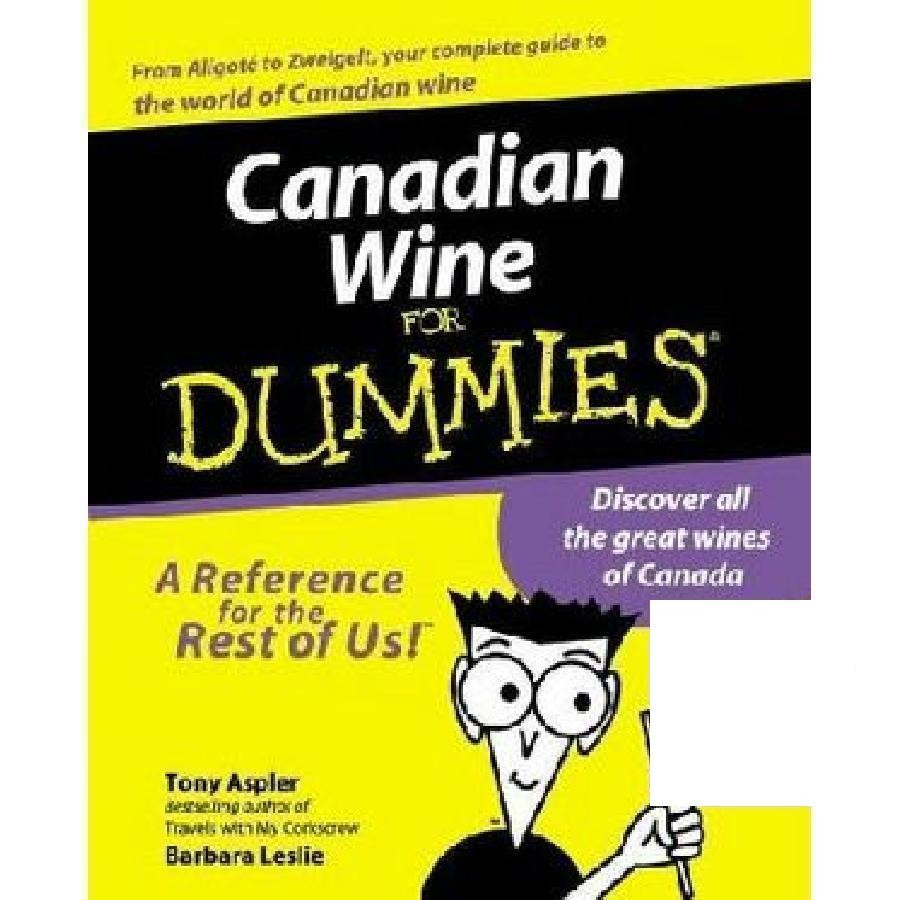 Canadian Wine for Dummies by Wiley