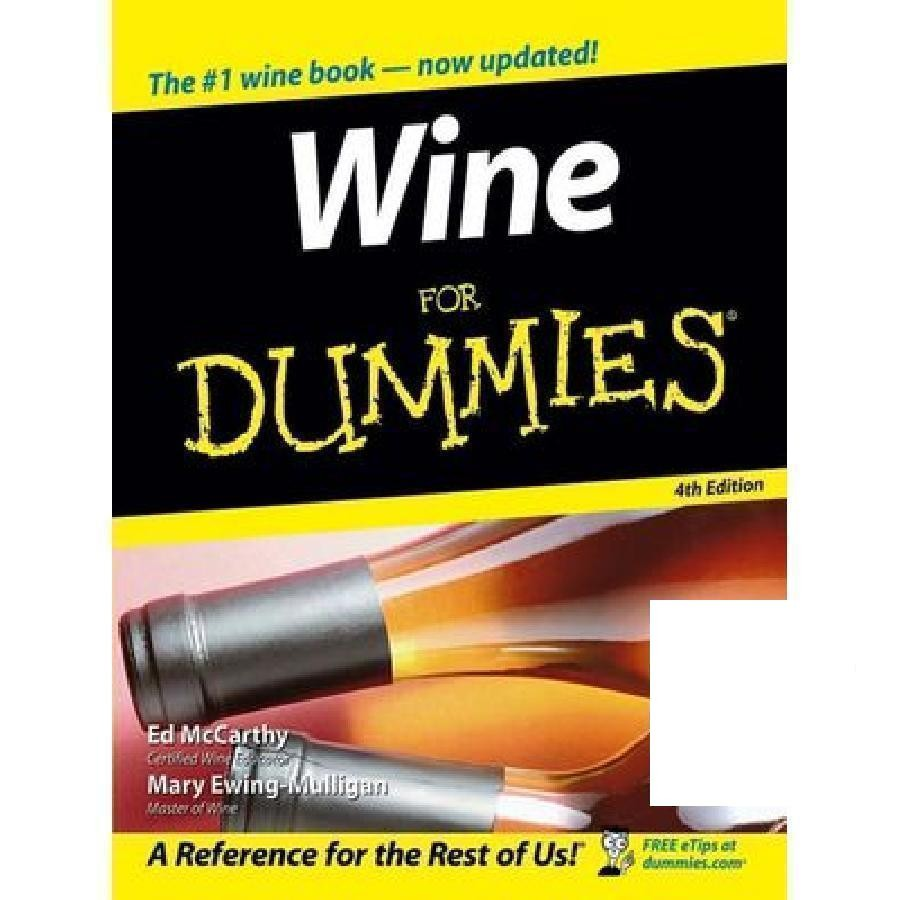 Wine for Dummies by Wiley
