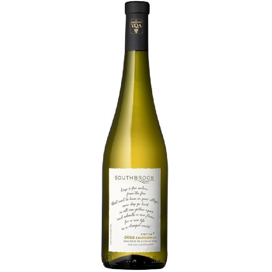 Poetica Chardonnay VQA by Southbrook Vineyards 2012- Bottle Only