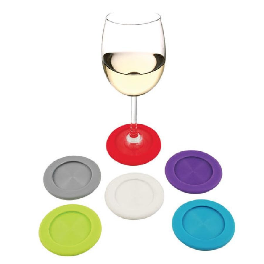 Slip-On Silicone Coaster Charms