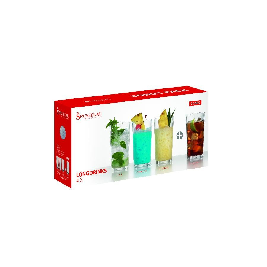 Spiegelau 12.3 oz Long drinks (set of 4)