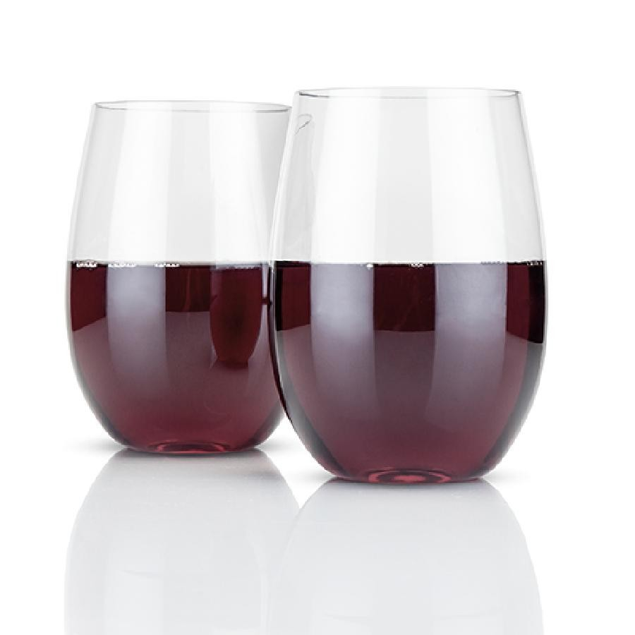 Flexi™ Stemless Wine Glasses (Set of 2)