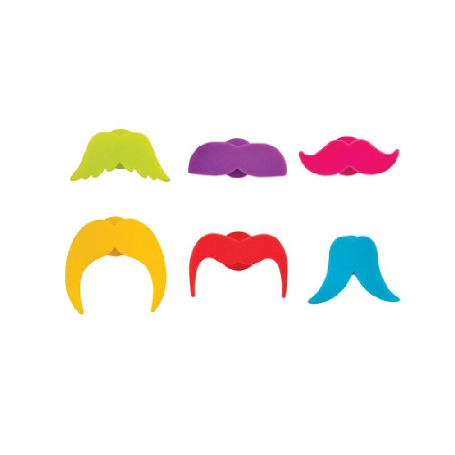 Whiskers Silicone Glass Markers by True