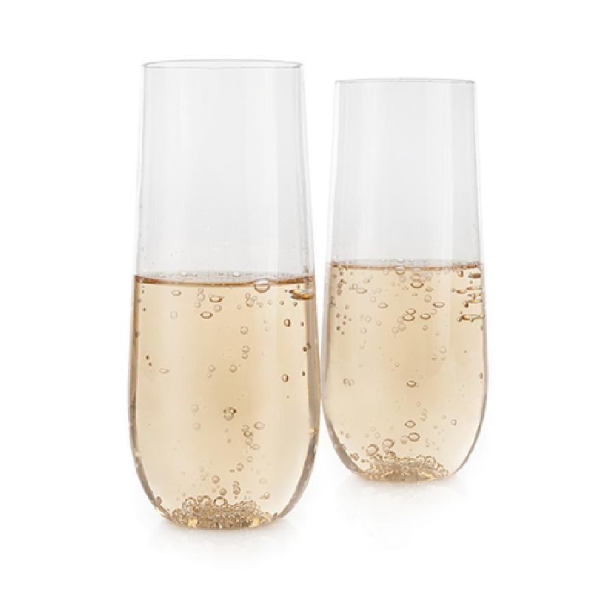 Flexi™ Stemless Champagne Flute Set