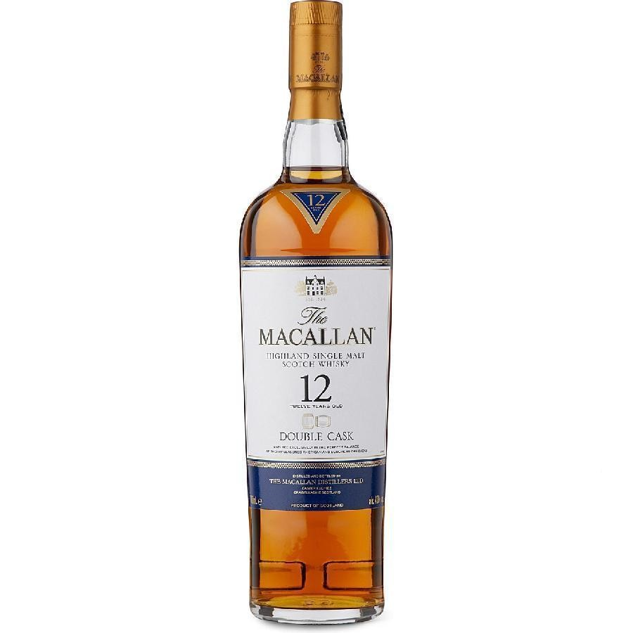 Macallan 12 Year Old Double Cask Highland Single Malt Scotch Whisky