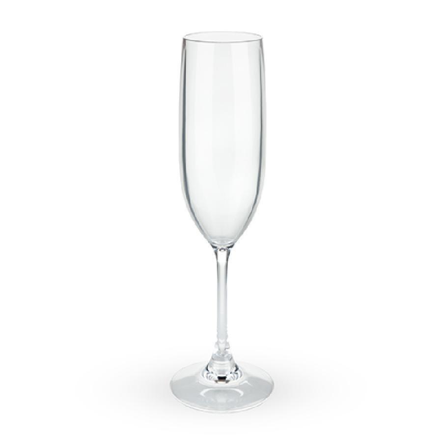 Shatterproof Plastic Champagne Flute by True