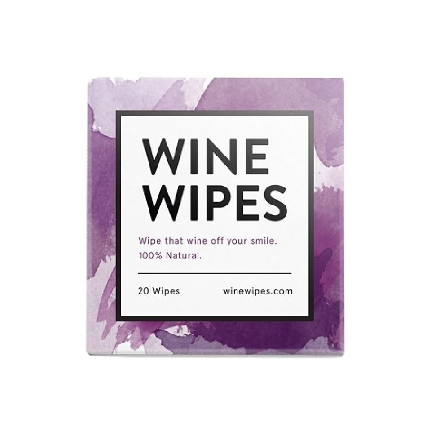 Wine Wipes Compact (20 per pack)