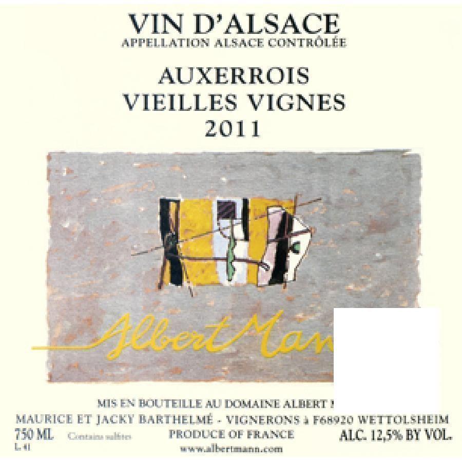 Auxerrois Vieilles Vignes by Domaine Albert Mann