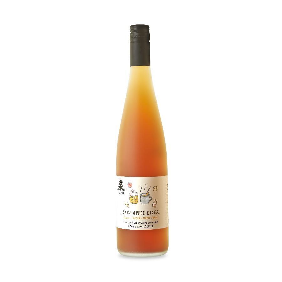 Sake Apple Cider (750ml) by Ontario Spring Water Sake Company