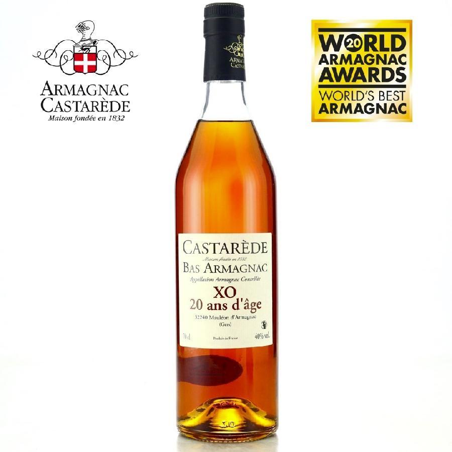 Armagnac Castarède XO 20 Year (700ml)