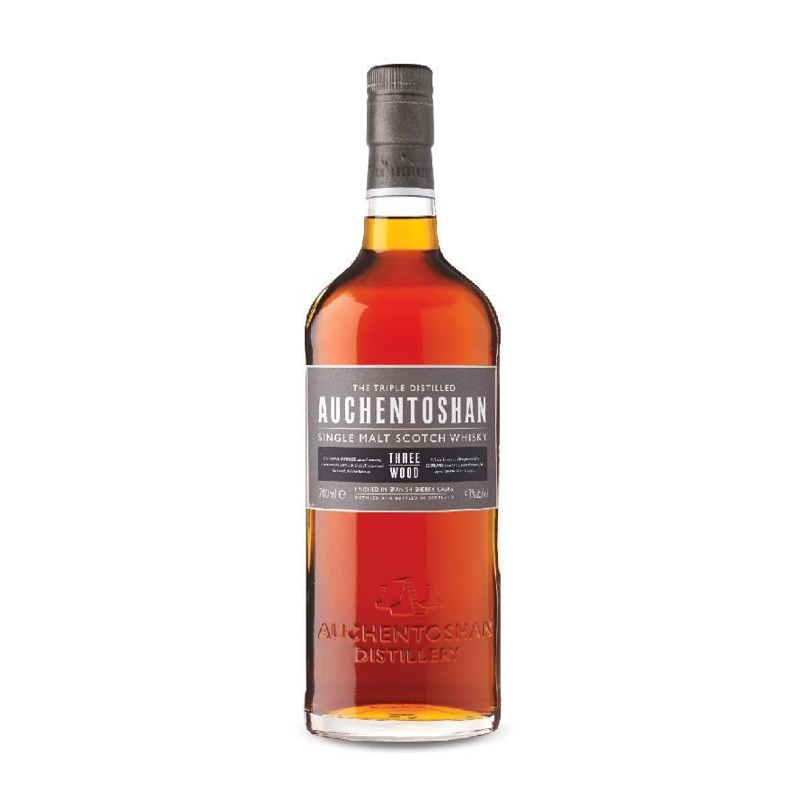 Auchentoshan Three Wood Lowland Single Malt Scotch Whisky 750mL