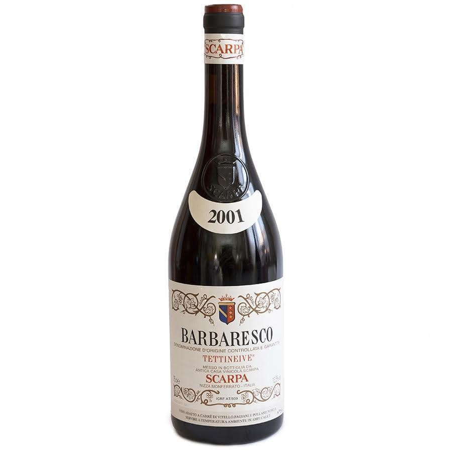 Barbaresco Tettineive DOCG by Scarpa 2001