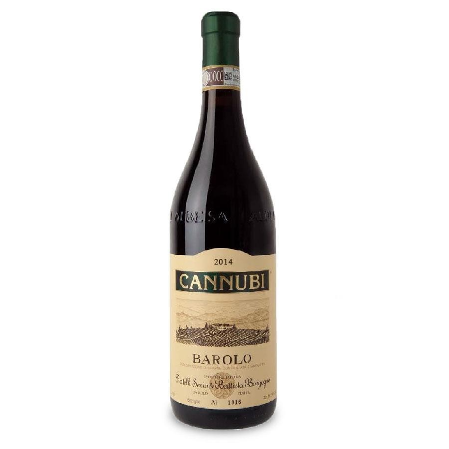 Barolo Cannubi DOCG 3L (Double Magnum) by Fratelli Borgogno 2014