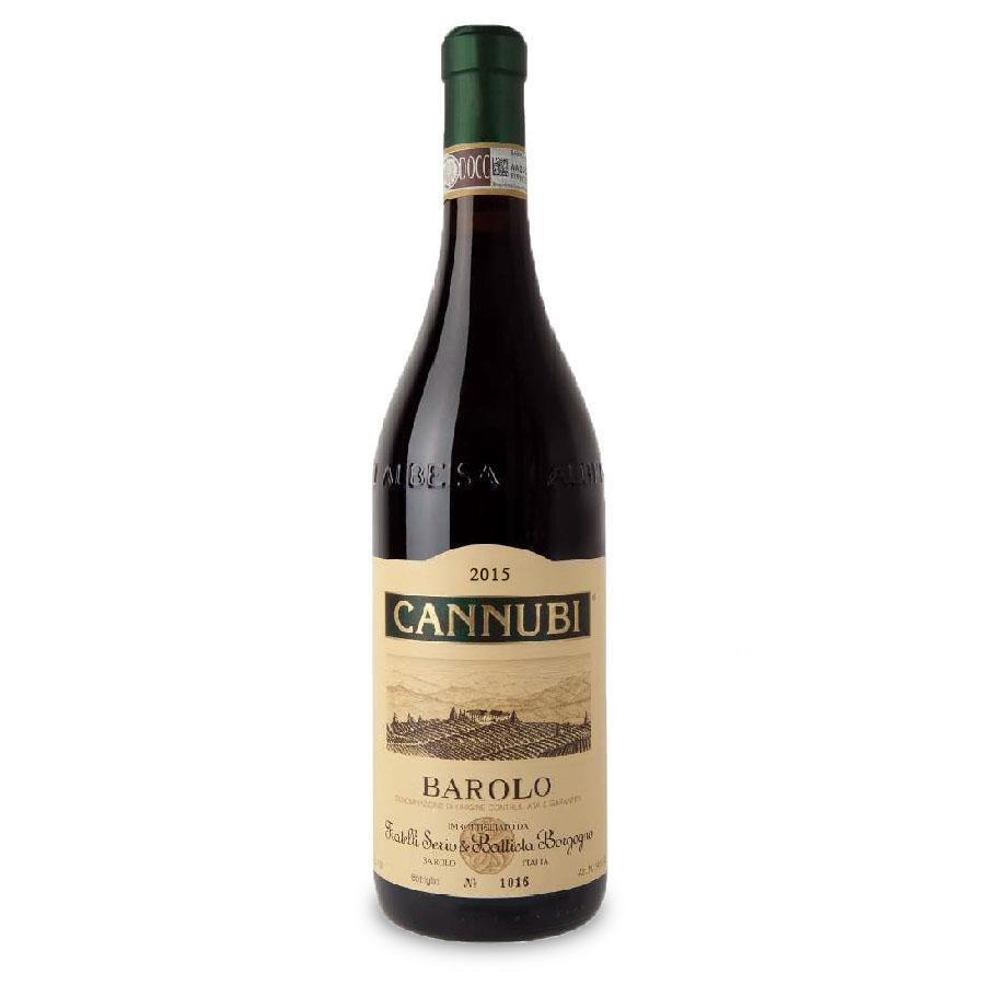 Barolo Cannubi DOCG 3L (Double Magnum) by Fratelli Borgogno 2015