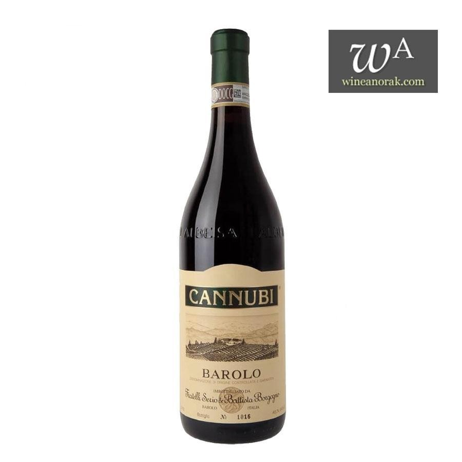 Barolo DOCG Cannubi by Fratelli Borgogno 2015