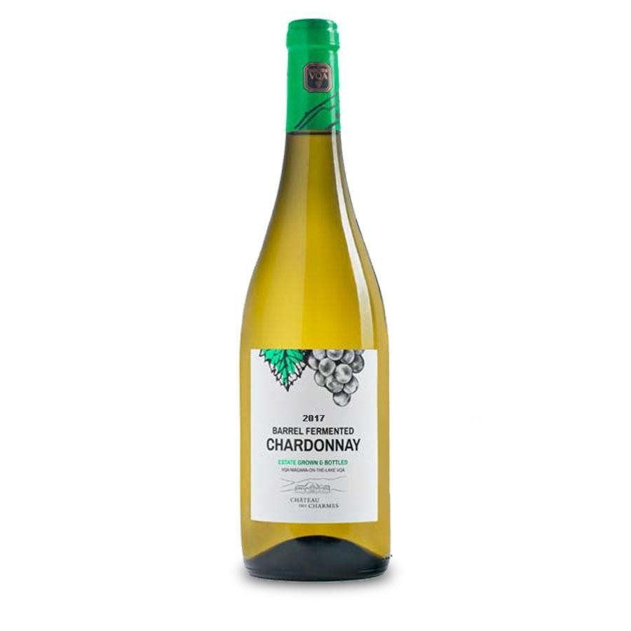 Barrel Fermented Chardonnay Estate Bottled VQA by Château Des Charmes 2013