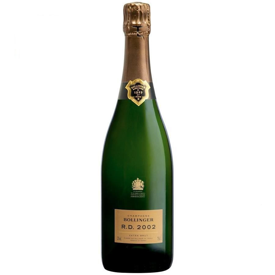 Champagne RD Extra Brut by Bollinger 2002