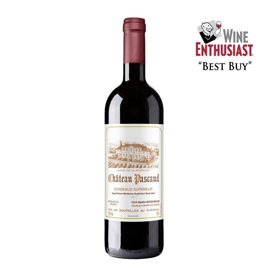 Bordeaux Supérieur by Château Pascaud 2016