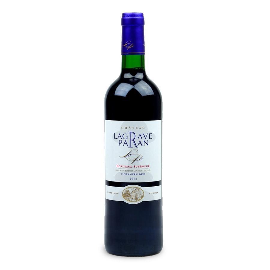 Bordeaux Supérieur Cuvée Geraldine by Château Lagrave Paran 2012