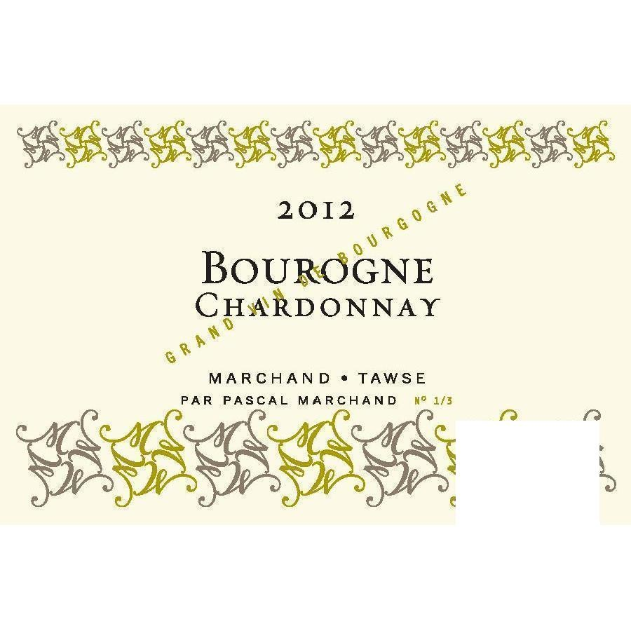 Bourgogne Chardonnay by Marchand-Tawse 2012