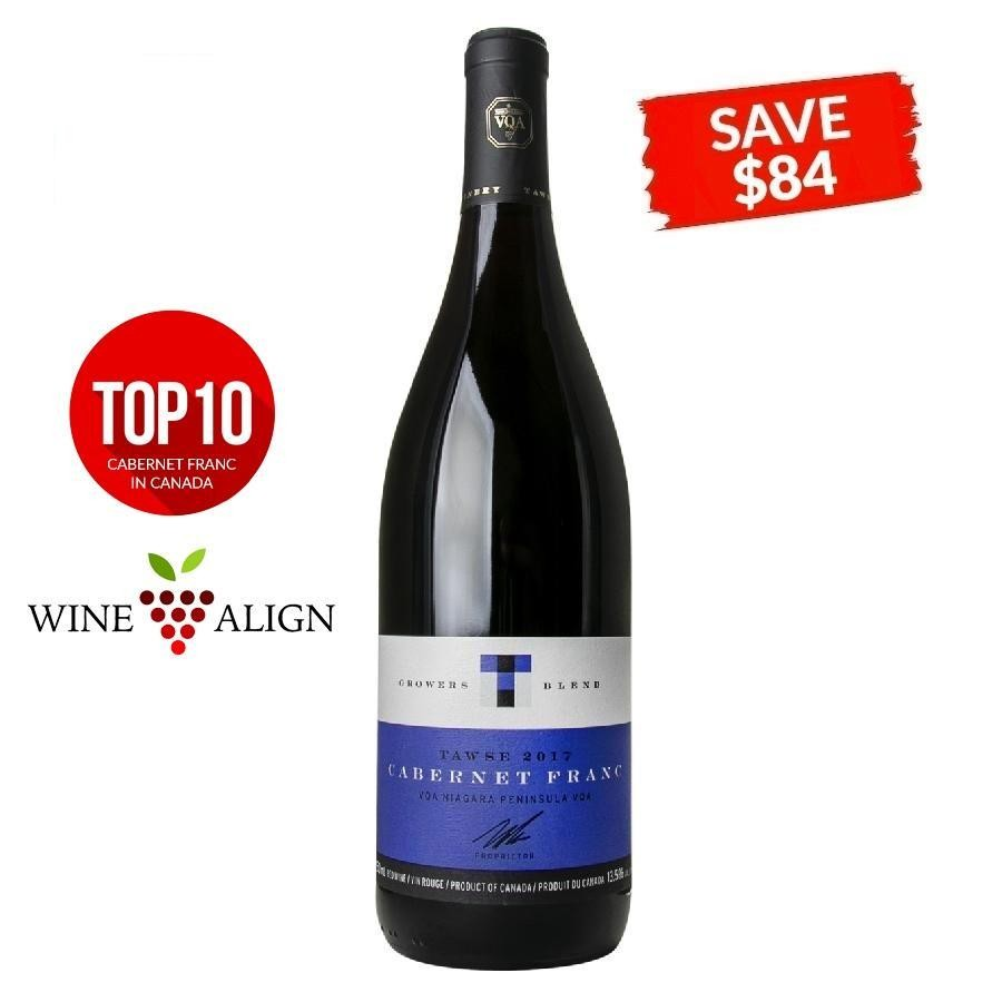 Cabernet Franc Grower's Blend by Tawse Winery 2017 (SAVE $84/CASE)