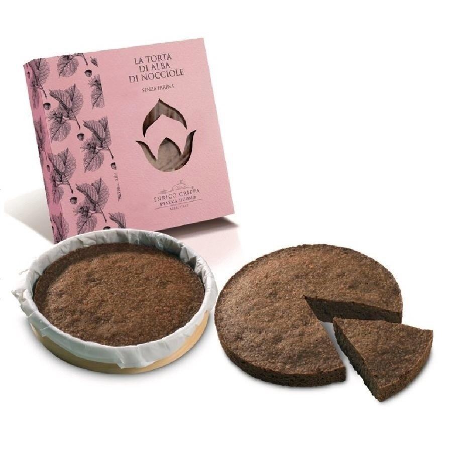 Torta di Nocciole Hazelnut Cake Gluten Free Piemonte I.G.P. by Three-Michelin-star chef Enrico Crippa