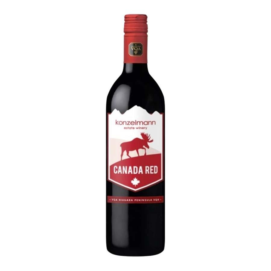 Canada Red VQA by Konzelmann Estate Winery 2015