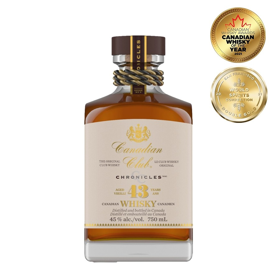 Canadian Club 43 Year Old Chronicles Issue No.3 750mL