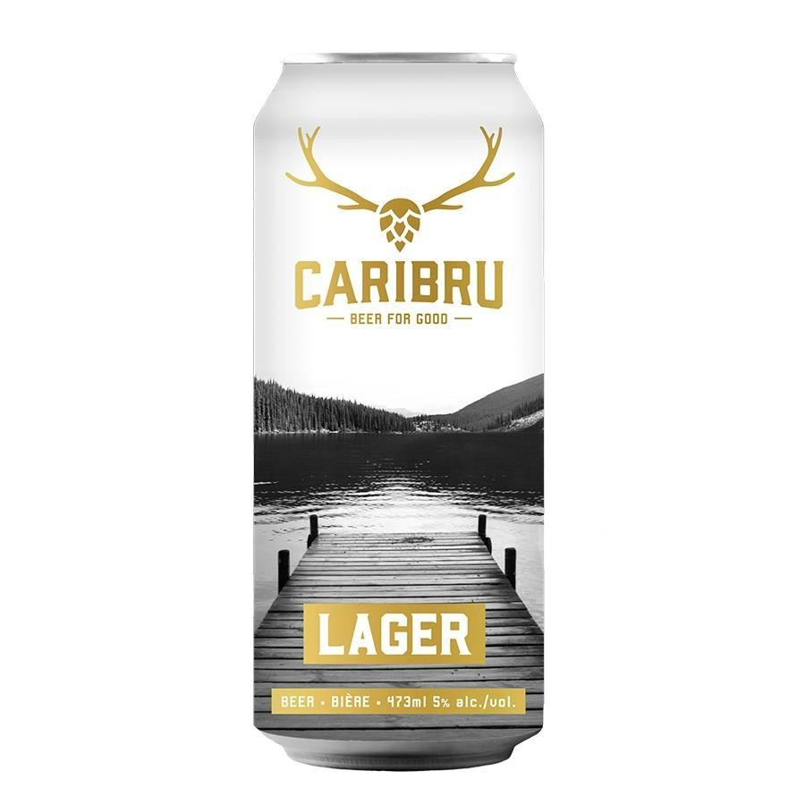 Caribru Lager Beer by Junction Craft Brewing