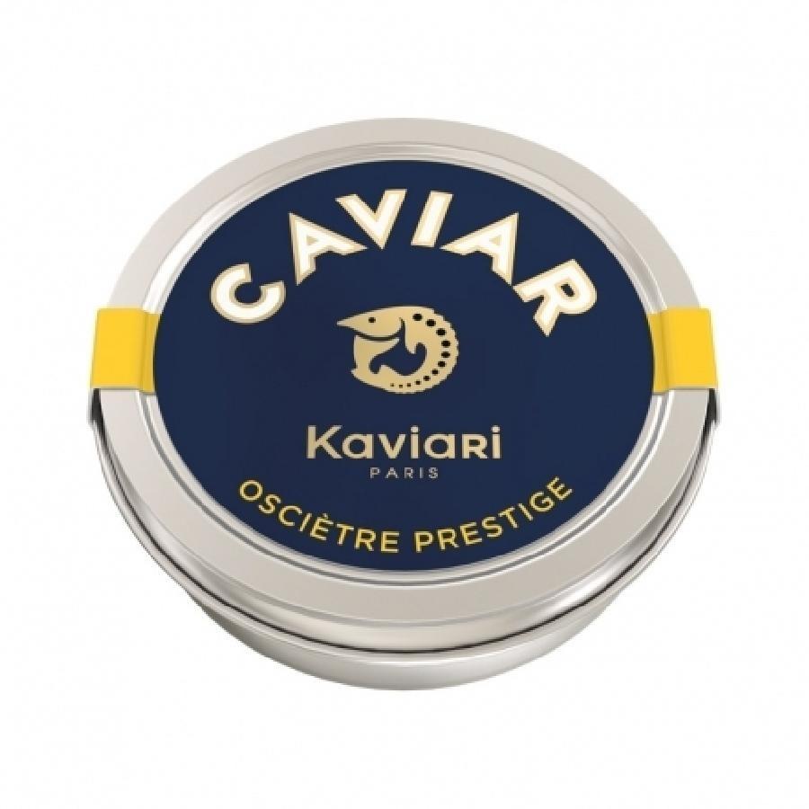50g Diamond Sturgeon Osetra Caviar Prestige by Kaviari Paris