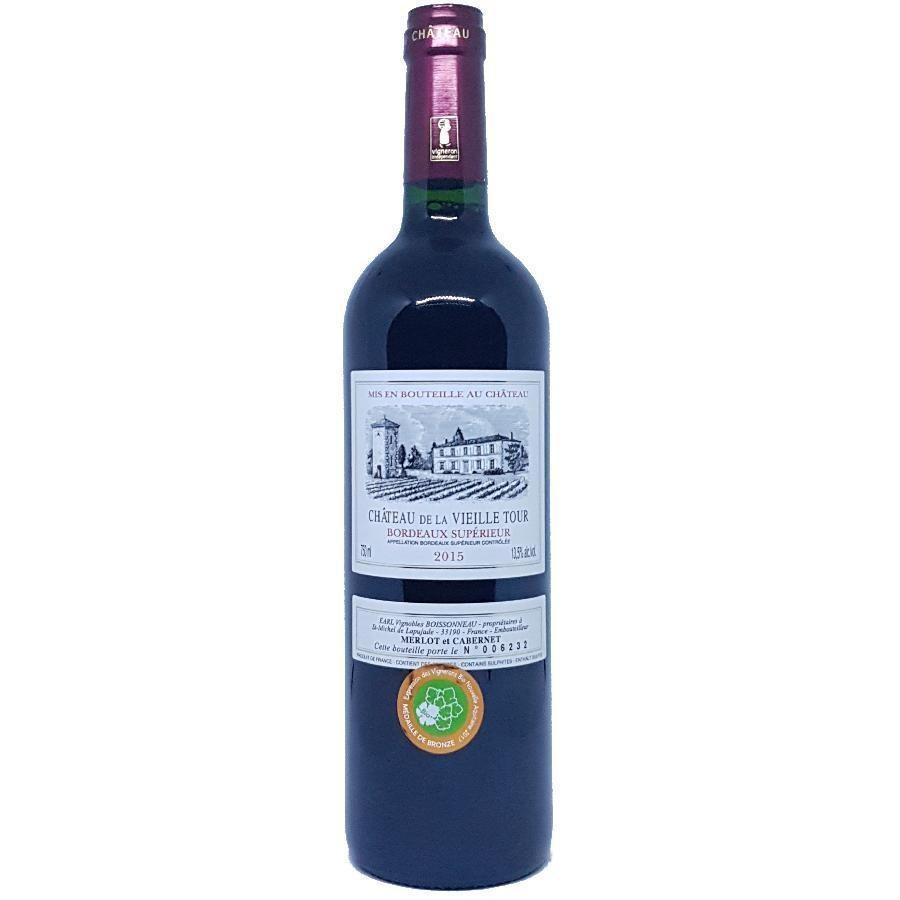 Bordeaux Superieur by Chateau de la Vieille Tour 2015