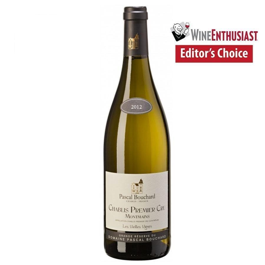 Chablis 1er Cru Montmains Les Vieilles Vignes by Pascal Bouchard 2012