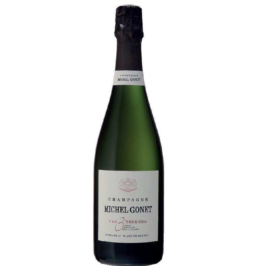 Champagne Extra Brut Blanc de Blancs Les 3 Terroirs by Champagne Michel Gonet 2013