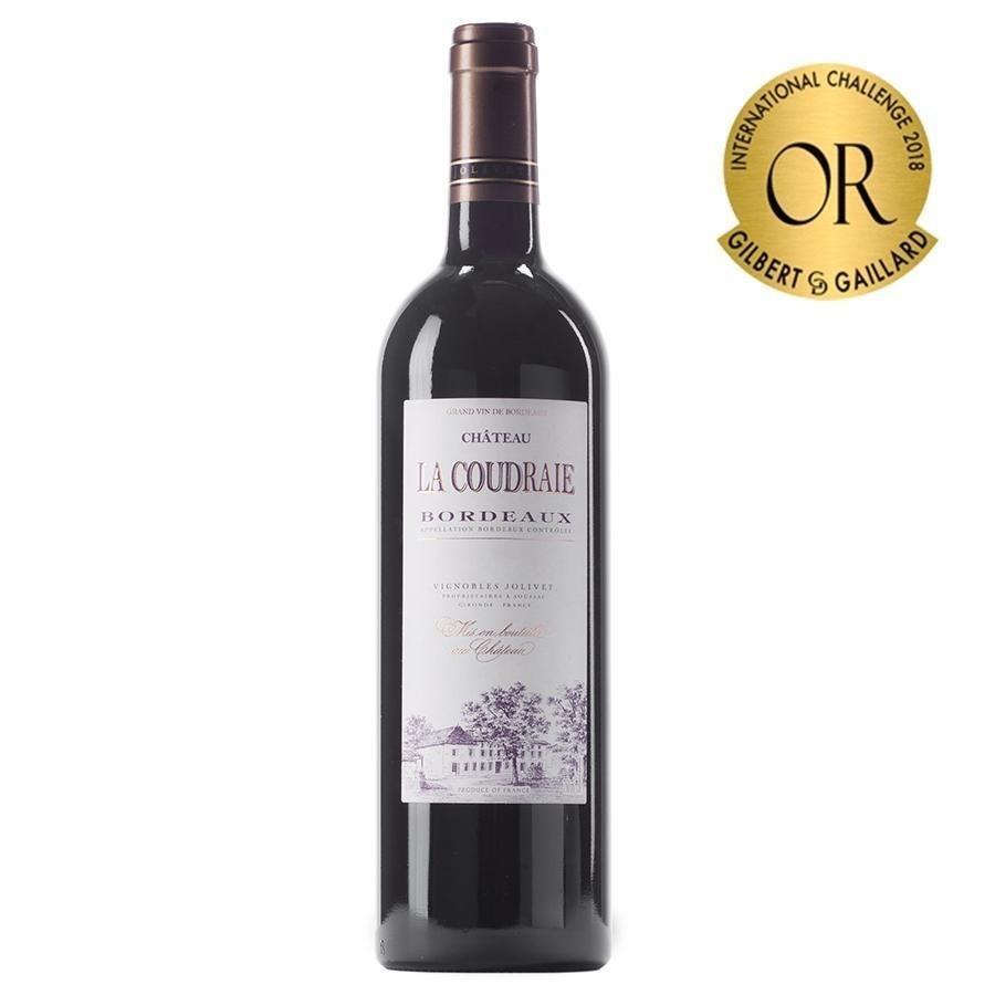 Château La Coudraie Bordeaux by Vignobles Jolivet 2016