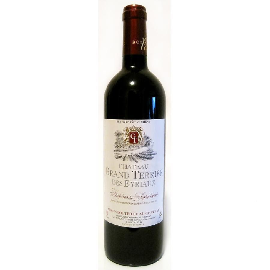 Bordeaux Superieur by Château Grand Terrier des Eyriaux 2012