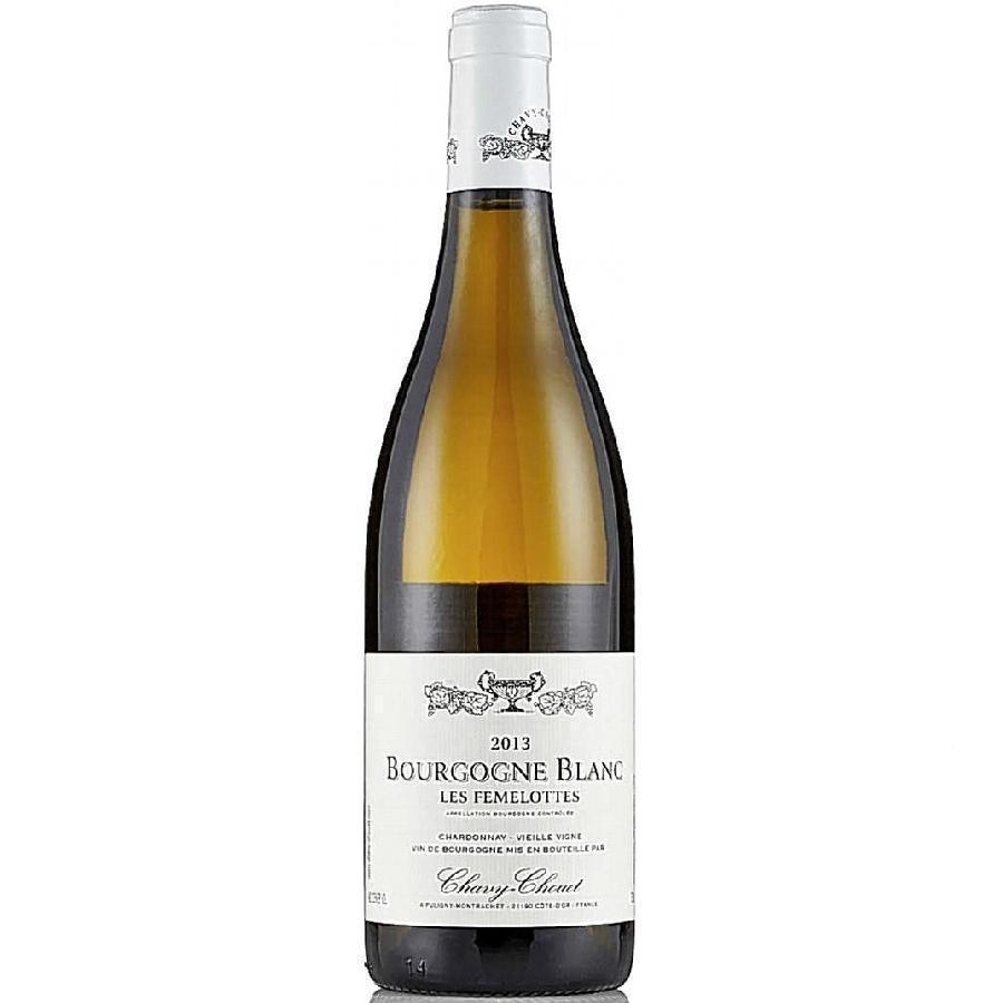 Bourgogne Blanc Les Femelottes by Chavy Chouet 2014