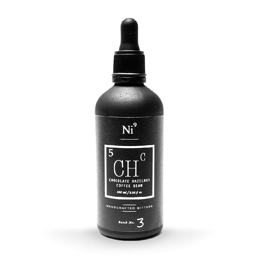 Ni9 Chocolate Hazelnut Coffee Bean Cocktail Bitters 100mL by Nickle9