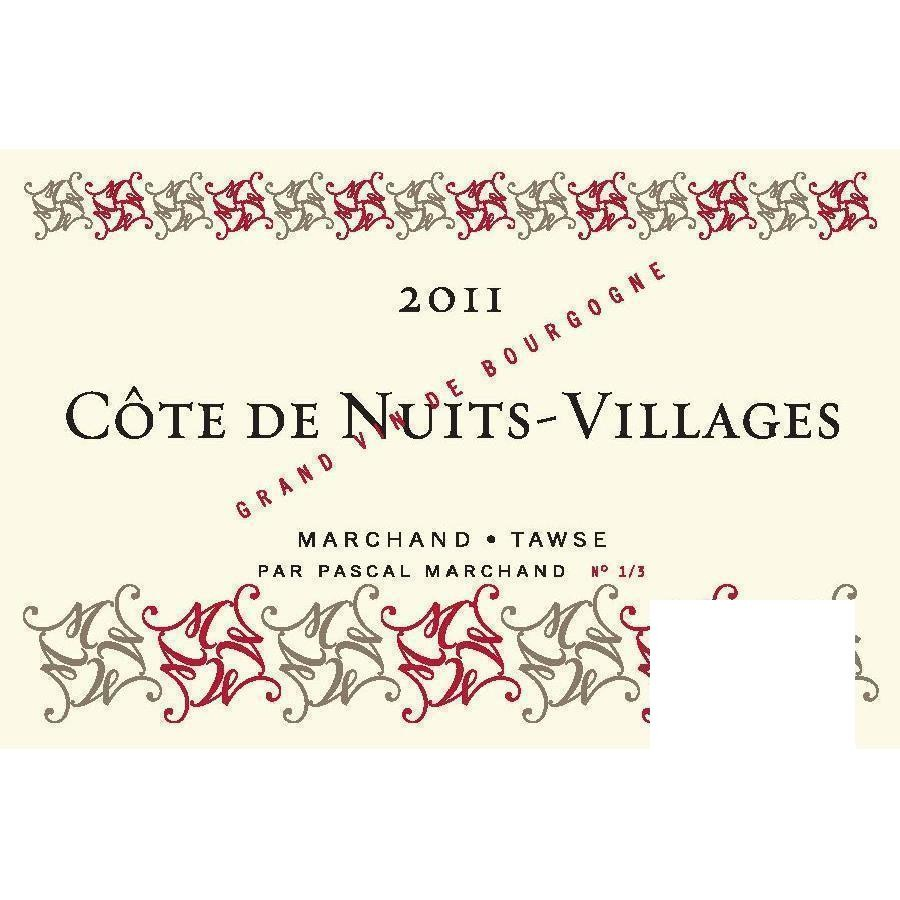 Côte de Nuits Villages by Marchand-Tawse 2011