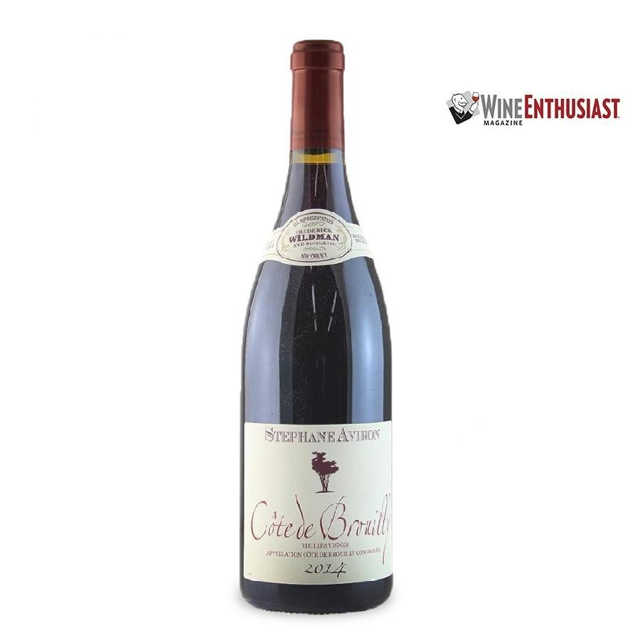 Cote de Brouilly by Stéphane Aviron 2014