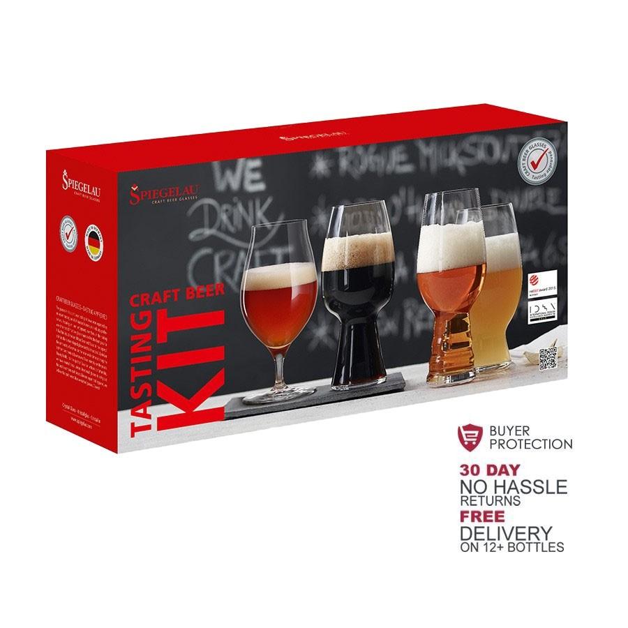 Craft Beer Glasses - Tasting-Kit by Spiegelau (4 PER PACK)