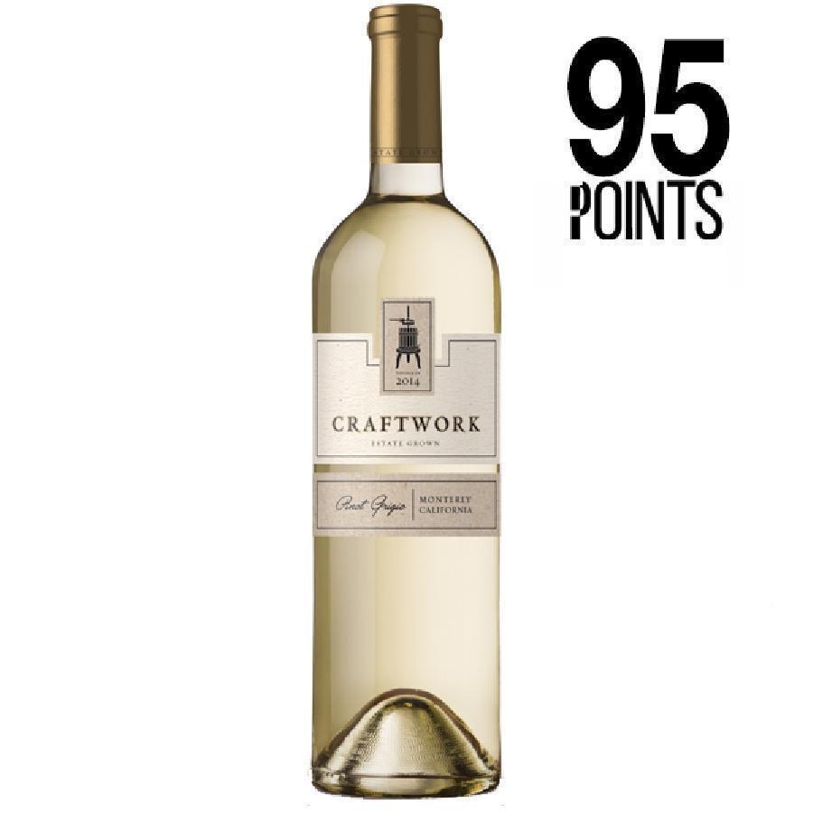 Estate Pinot Grigio Monterey by Craftwork Wines 2014