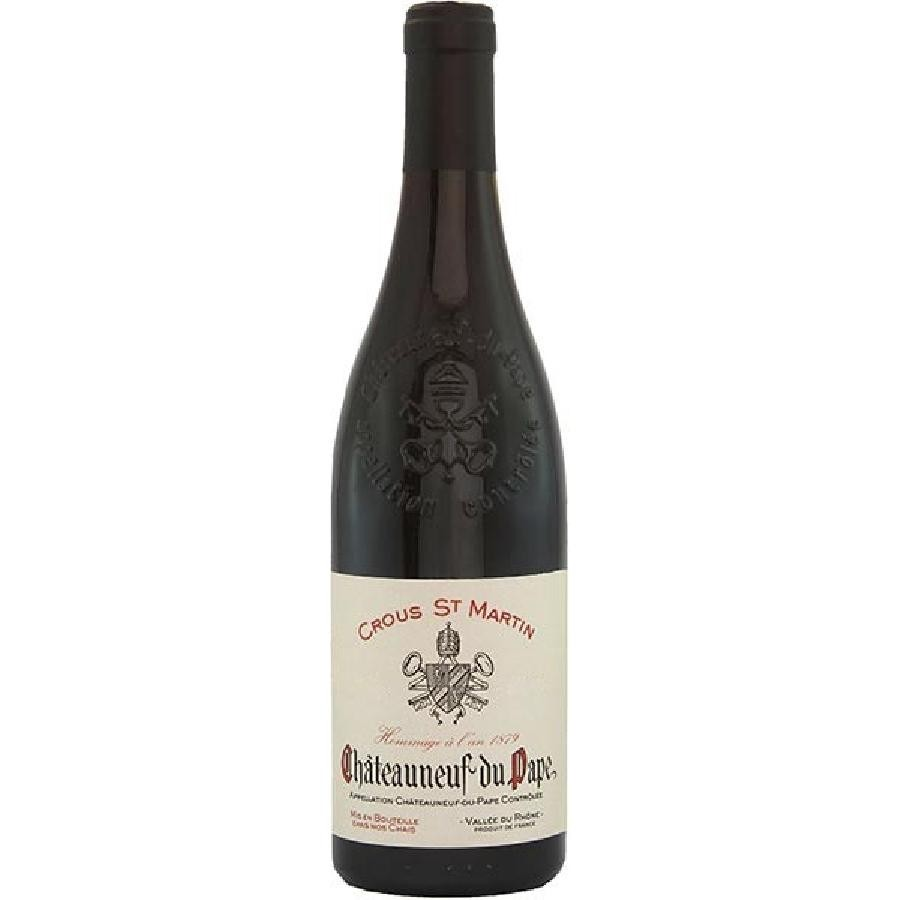 Chateauneuf du Pape Hommage A L'An 1879 by Crous St. Martin 2019