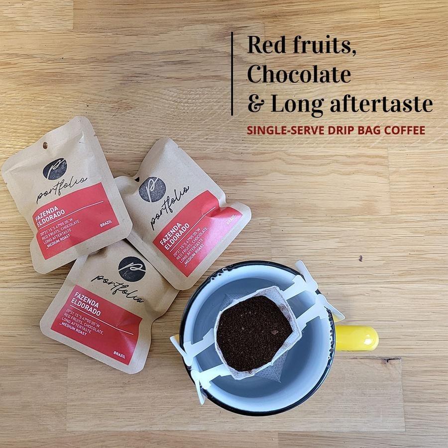 Fazenda Eldorado Rescue Pack 12-Pack Drip Bag Coffee