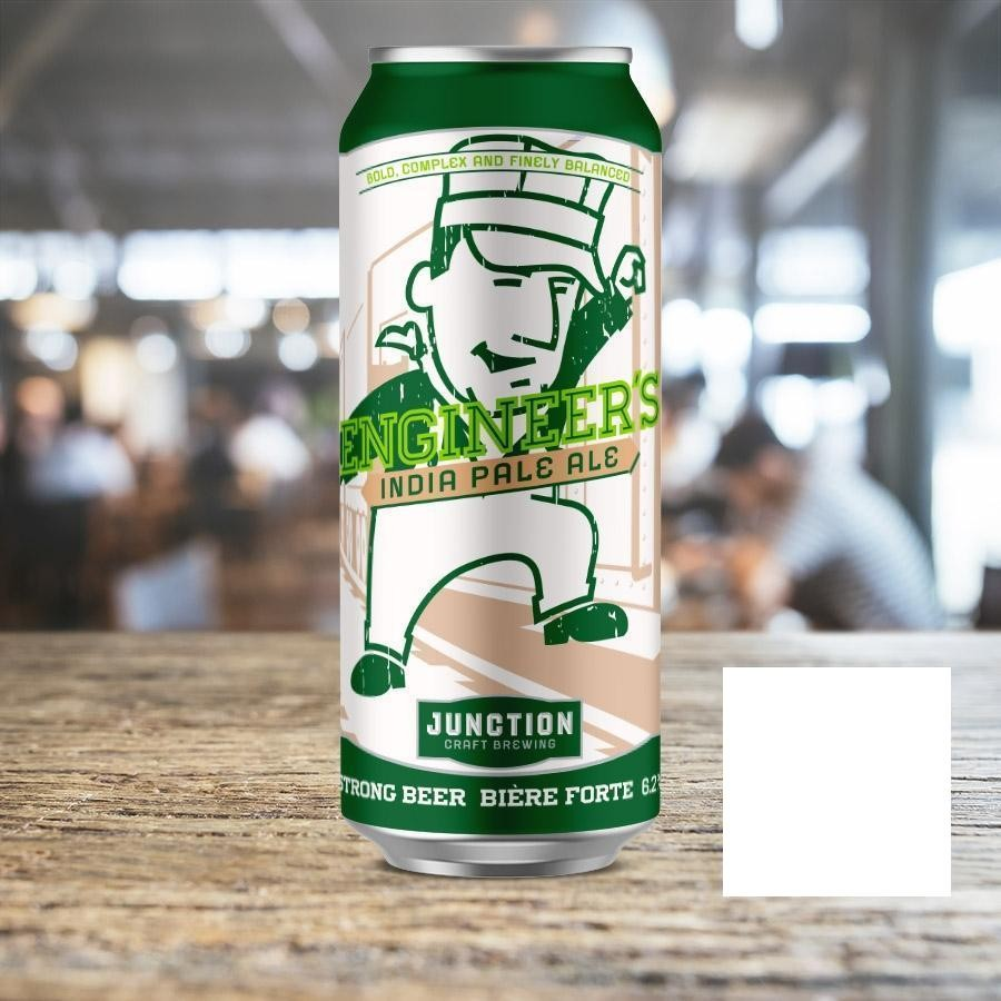 Engineer's IPA India Pale Ale Craft Beer by Junction Craft Brewing