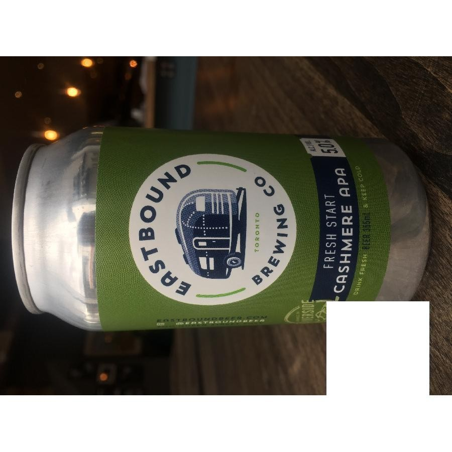 Cashmere APA American Pale Ale Craft Beer by Eastbound Brewing Co.
