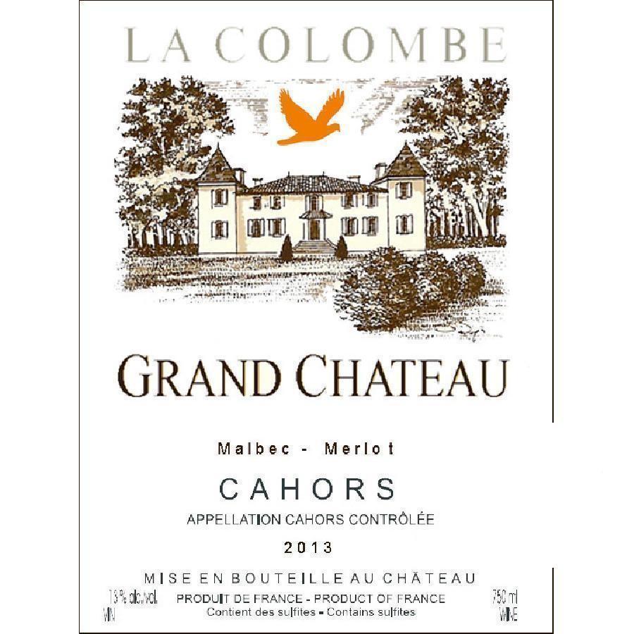 La Colombe Malbec Cahors by Château de Gaudou 2014