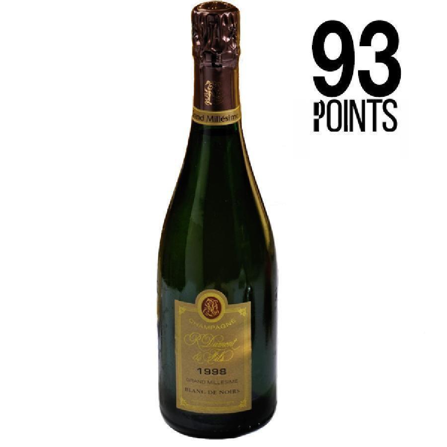 Champagne Blanc de Noirs Grand Millesime Brut by R. Dumont et Fils 1998